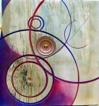 Lynda Clark- wall hanging Nick Agar style