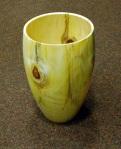 Mike Haselden, large monkey puzzle vase
