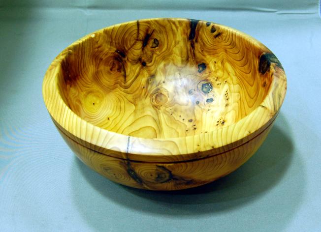 Ron Broadway, yew bowl