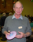Adrian Smith with spinner winner