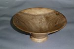 Tim Shepard welsh walnut bowl