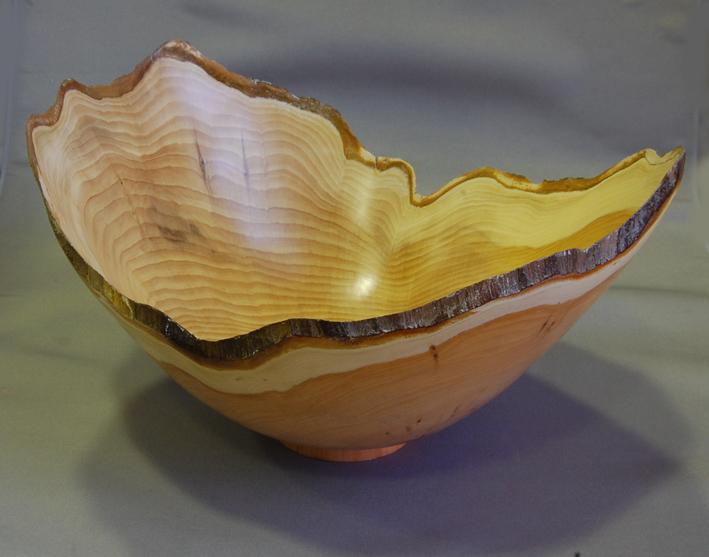 Dave Gibbard, yew bowl