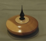Harry Woollhead, yew finial box