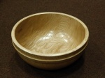 Mike Haselden, large oak bowl