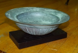 Mark's bronze style bowl