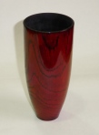 Don Donaldson, stained oak vase