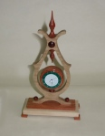 Ian Woodford, Clock, maple & bubinga