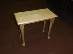 John R Davis, oak table
