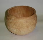 Roy Holder, textured ash bowl
