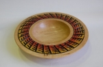 Graham Barnard textured Oak Bowl