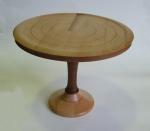 Alan Truslove - beech and mahogony cakestand