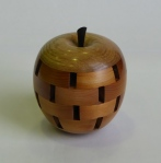 David Funnell - segmented apple in oak, cedar, ebony