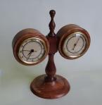 Ian Woodford - Bubinga clock-barometer