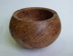 John R Davis - burr oak bowl