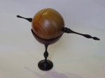 Jack Mansfield Finial box on stand