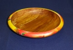 Adrian Smith- Decorated beech bowl