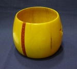 Dave Simpson- rescued wet beech bowl