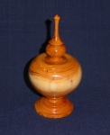 Mike Haselden- Yew finial box