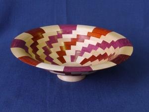 Alan Baker 2nd place segmented bowl