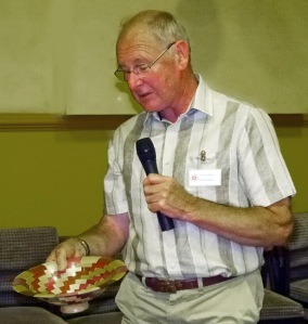 Alan Baker with bowl