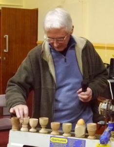 Ian Woodford judging 2