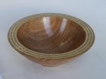 Martin Rooney - Ash bowl with brass inlay