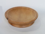 Dave Simpson, Cedar bowl inlaid with copper