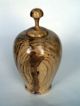 Mike Haselden, spalted beech hollow form