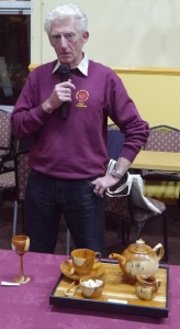Challenge winner Harry Woollhead with entry