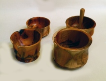 Alan Baker Yew pots
