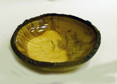 Mike Haselden oiled bowl